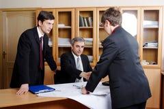 Professional meeting Stock Photo