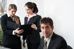 Professionals at work Royalty Free Stock Images