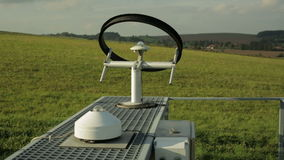 Professional meteorological instrument automatic heliograph