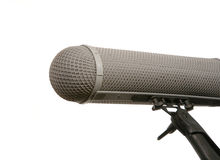 Professional mic in windshield Stock Photography