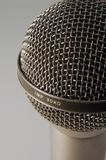 Professional Microphone. A closeup of Professional Microphone Royalty Free Stock Photo