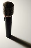 Professional Microphone. With long shadow Royalty Free Stock Photos