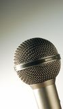 Professional microphone. Close up of professional microphone Royalty Free Stock Photo