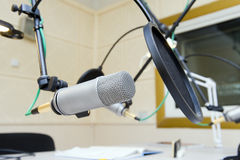 Professional microphone Royalty Free Stock Photography