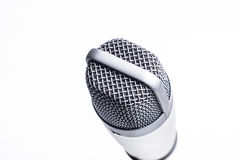 Professional microphone Stock Image