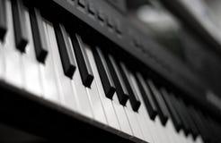 Professional midi keyboard synthesizer. Stock Photos