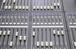 Professional mixer Royalty Free Stock Photography