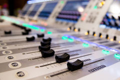 Professional mixer for your recording Royalty Free Stock Photos