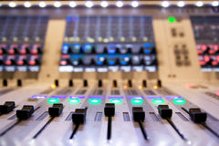 Professional mixer for your recording Stock Images