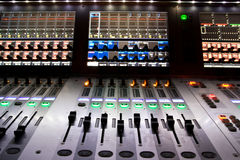 Professional mixer for your recording Royalty Free Stock Image