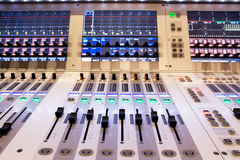 Professional mixer for your recording royalty free stock photo