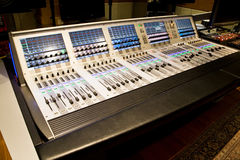 Professional mixer for your recording Royalty Free Stock Photography