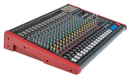 Professional Mixing Console Royalty Free Stock Photos