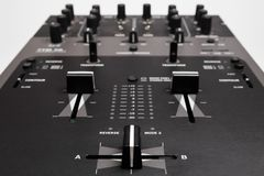 Professional Mixing Controller for dj Stock Photography