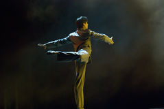 Professional modern dancer Stock Photography
