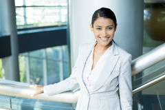 Professional modern suit woman Stock Photography