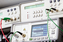 Professional modern test equipment Stock Photo
