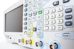 Professional modern test equipment - analyzer Stock Photography
