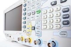 Professional modern test equipment - analyzer Stock Photography