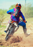 Professional motocross rider. Stock Photography