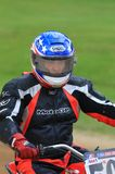 Professional motorcycle rider Stock Image