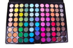 Professional multicolour eyeshadows palette Royalty Free Stock Images