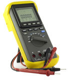 professional multimeter Stock Photo