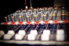 Professional music mixer Stock Photos