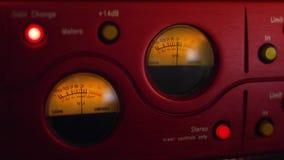 Professional Music Studio Equipment stock video footage