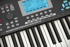 Professional musical synthesizer Royalty Free Stock Images