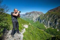 Professional nature photographer Stock Photos