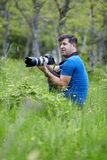 Professional nature photographer Stock Photo