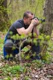 Professional nature photographer Royalty Free Stock Photo