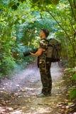 Professional wildlife photographer Royalty Free Stock Photos