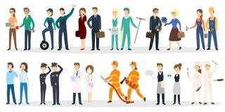 Professional occupation set. Stock Photos