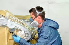 Professional painter. stock image