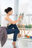 Professional painter Stock Images