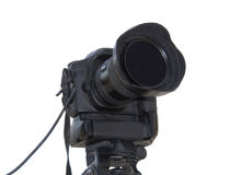 Professional photo camera Royalty Free Stock Photo