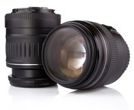 Professional photo lens Royalty Free Stock Photos