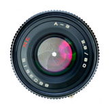Professional photo lens closeup Stock Images