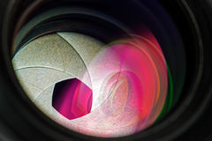 Professional photo lens closeup 3 Royalty Free Stock Photos