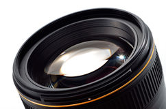 Professional photo lens closeup Royalty Free Stock Photography