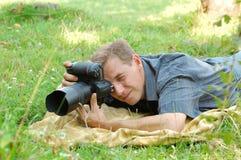 Professional photographer Royalty Free Stock Image