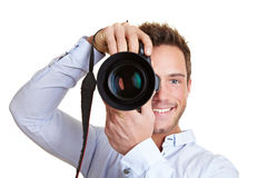 Professional photographer Royalty Free Stock Photography