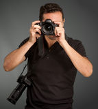 Professional photographer Royalty Free Stock Photos