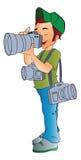 Professional Photographer, illustration Stock Photos