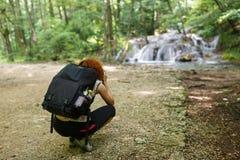 Professional photographer lady Royalty Free Stock Image