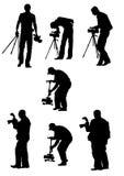 Professional photographer work Stock Photography