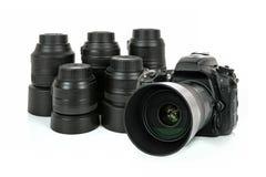 Professional photographic equipment stock photography