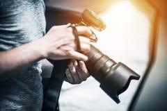 Professional Photography Job Stock Photos